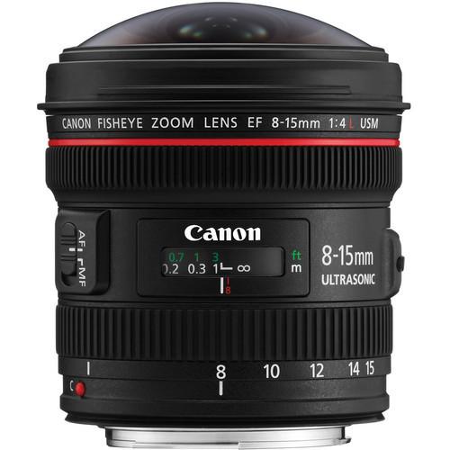 Canon EF 8-15mm f/4L Fisheye USM