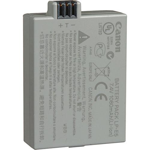 Canon LP-E5 Battery Pack For Rebel XS, XSi, & T1i