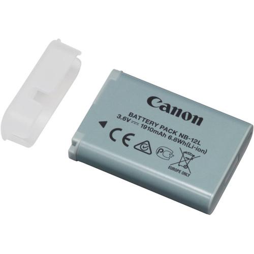 Canon NB-12L Lithium-Ion Battery Pack for PowerShot N100 Digital Camera (3.6V, 1910mAh)