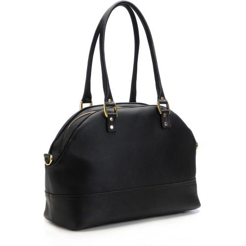 ONA The Chelsea Saffiano Leather Camera Bag, Black