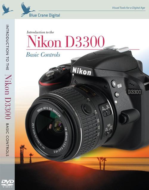 Blue Crane Digital zBC159 Introduction to the Nikon D3300: Basic Controls by Blue Crane Digital (Grey)
