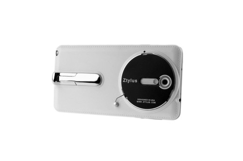 New Authentic ZTYLUS ZGN-3 SMARTPHONE CASE FOR SAMSUNG GALAXY NOTE 3 (WHITE EDITION) WITH KICKSTAND COMPATIBLE WITH RV-1 4-IN-1 REVOLVER LENS ATTACHMENT