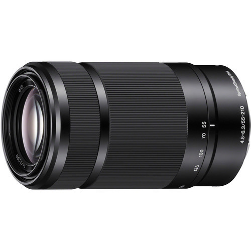Sony E 55-210mm f/4.5-6.3 Lens (Black)