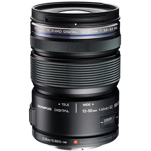 Olympus 12-50mm F/3.5-6.3 ED M.Zuiko EZ M43 (Black)