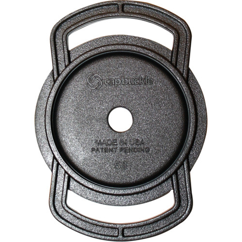 CapBuckle Lens Cap Holder (Holds 67mm, 58mm, 52mm Lens Caps)