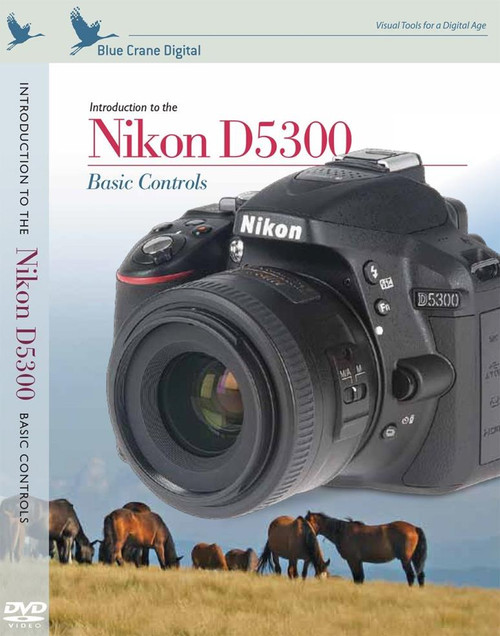 Blue Crane Digital zBC158 Introduction to the Nikon D5300: Basic Controls