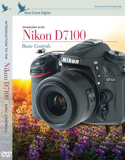 Blue Crane Digital zBC153 Introduction to the Nikon D7100: Basic Controls (White)
