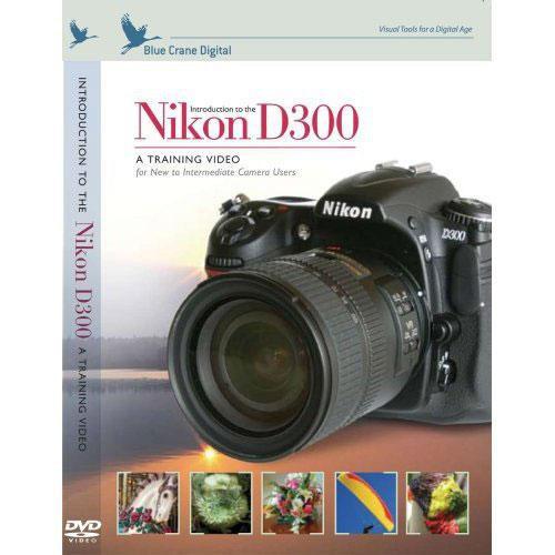 Blue Crane - NIKON D300 INTRODUCTION Video