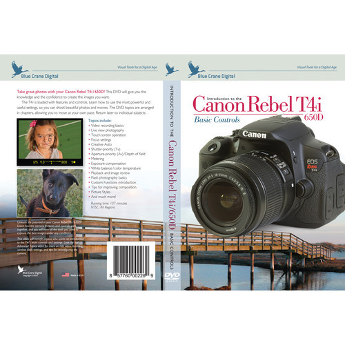 Introduction To The Canon Rebel T4i/650D
