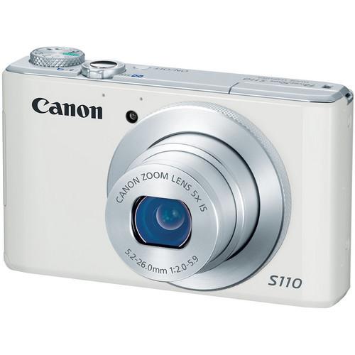 Powershot S110 Digital Camera (White)