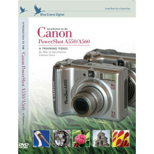 Introduction To Canon A550 And Powershot A560