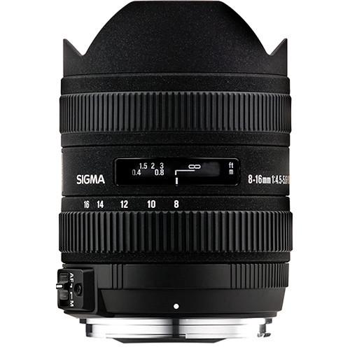 Sigma 8-16mm F4.5-5.6 DC HSM Ultra-Wide for Nikon