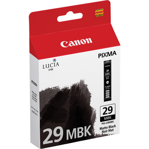 PGI-29 Matte Black Ink Cartridge For Pixma PRO-1