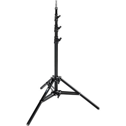 A0025B Baby Alu Stand 25 With Leveling Leg Blk