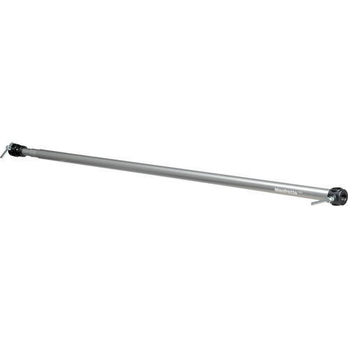 "Manfrotto Black Adjustable Background Holder Crossbar for 44"" to 117"" Paper."