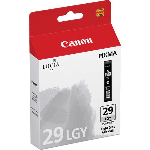 PGI-29 Light Gray Ink Cartridge For Pixma PRO-1