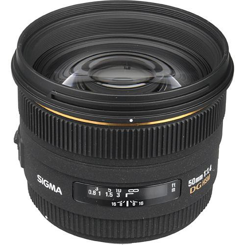 Pre-Owned - Sigma 50mm F/1.4 HSM/ED DG for CANON -10