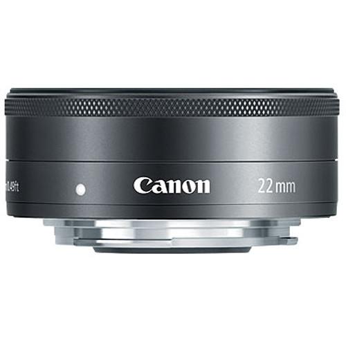 Canon EF-M 22mm F/2 STM (BLACK)