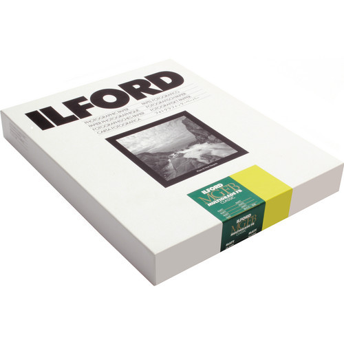 "Ilford Multigrade FB Classic Fiber Based Variable Contrast, Doubleweight Black & White Enlarging Paper 11x14"", 10 Sheets, Matte"
