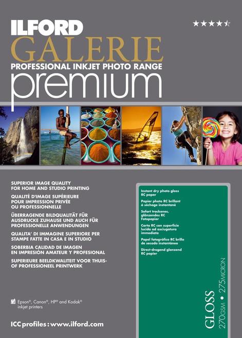 "8.5X11"" Premium Photo Gloss 270Gsm/11Mil, 100Sheet"
