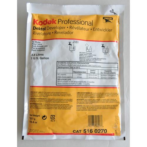 Kodak Dektol paper  Developer (1 Gallon) CAT 516-0270  19.4 oz