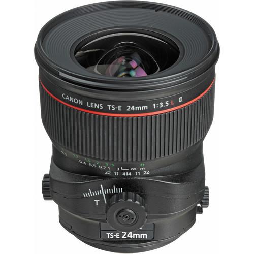 Canon TS-E 24mm F3.5L II Tilt-Shift Manual Focus