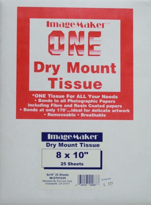 "8X10"" Drymount Tissue 100Sh"