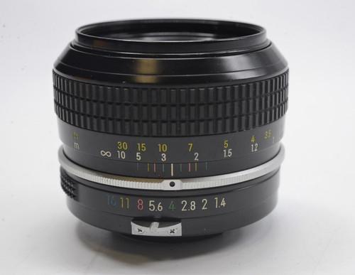 Pre-Owned - Nikon 50MM F/1.4 NON-AI Black