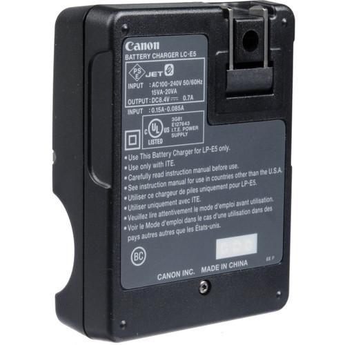 Canon LC-E5E Battery Charger For LP-E5 Battery