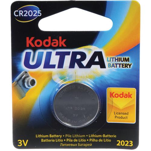 Kodak KCR2025 3V Lithium/Manganese Dioxide Battery