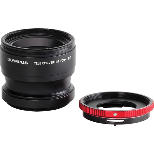 Olympus TCON-01 Telephoto Tough Lens Pack (lens and adapter) for TG Series