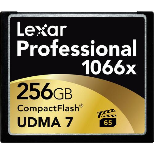 Lexar Professional 1066x 256GB CompactFlash card LCF256CRBNA1066