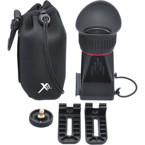 Xit XTLCDMVL Professional Locking LCD Viewfinder with 3.4X Magnification (Black)