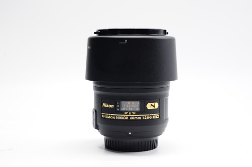 Pre-Owned - Nikon 60Mm F2.8G ED Nano AF-S Micro-Nikkor
