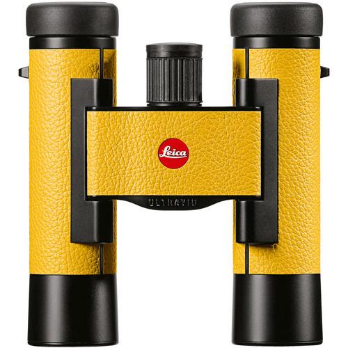 Leica 10x25 Ultravid Colorline Binocular (Lemon Yellow)