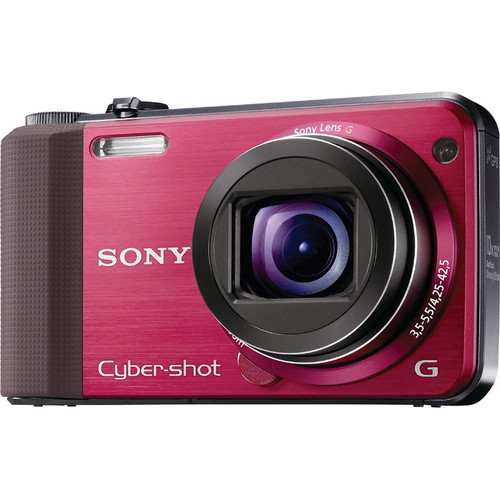 Cyber-Shot DSC-HX7V Digital Camera (Red)