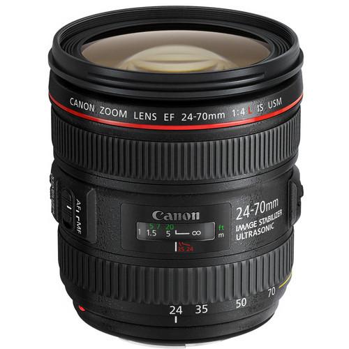 Canon EF 24-70mm f/4L IS USM Standard Zoom