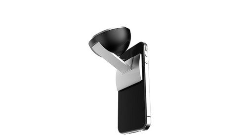 Aluminum Mobile Phone Car Mount or Desk Stand with Microsuction by XShot (XSMPC