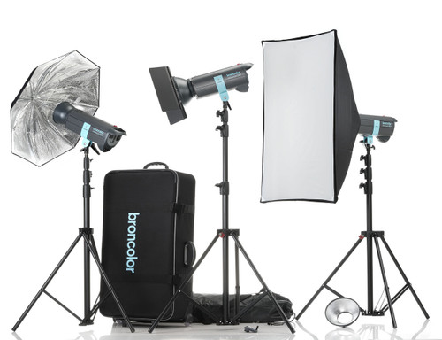 Broncolor Minicom Expert RFS 3 Monolight Kit - B-31.497.07 (ACE12811)
