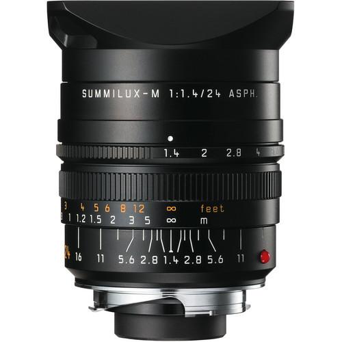 Leica Summilux-M 24mm f/1.4 ASPH. Black Lens (S7)