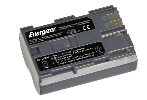 Energizer ENV-C511 Replacement Li-Ion Battery for Canon BP-511