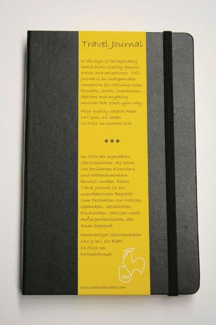 Hahnemuhle Travel Journal 13.5cm x 21cm Portrait, 64 sheets
