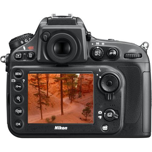 Nikon D800E FX DSLR Digital Camera (Body Only)