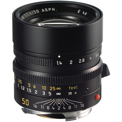 Leica Summilux-M 50mm f/1.4 ASPH. Lens (Black)