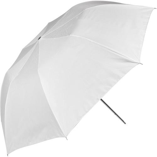 """43"""" Umbrella Optical White Satin"""