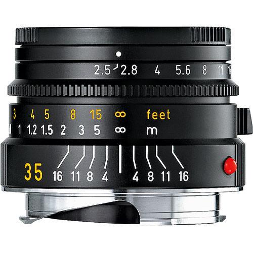 Summarit-M 35mm F/2.5 (Black)