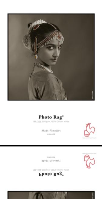 "Hahnemühle Photo Rag Paper (8.5 x 11"", 25 Sheets)"