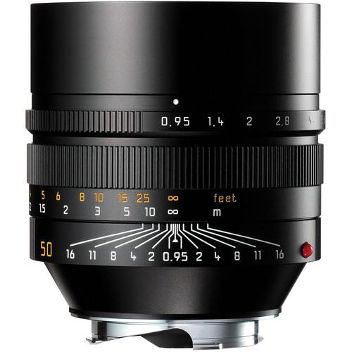 Leica Noctilux-M 50mm f/0.95 ASPH. Lens (Black)