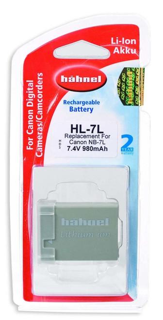 HL-7L Canon Type NB-7L Li-Ion Rechargerable Batt