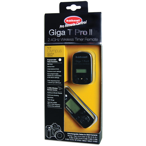 hahnel Giga T Pro II 2.4GHz Wireless Timer Remote for Olympus Cameras